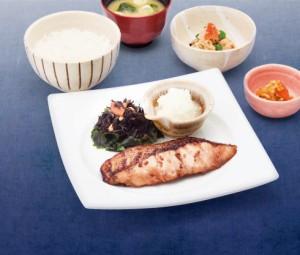 沖目鯛の醤油麹漬け炭火焼き定食